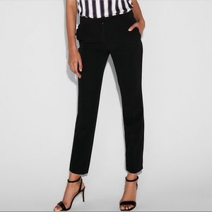 Express Ruffle Pocket Columnist Ankle Pant - 8
